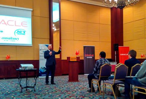 Oracle Technology Day in Tashkent 2017
