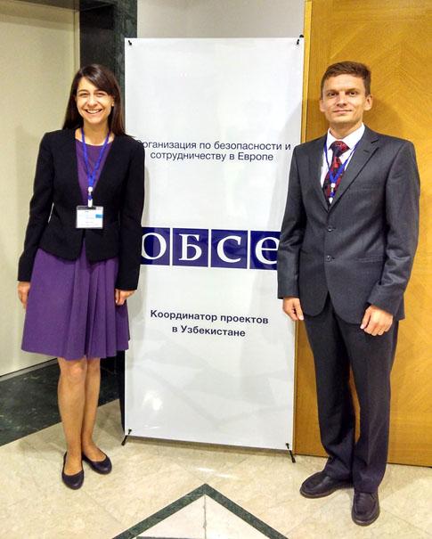 Jaisha J. Wray and Anton Rakitskiy